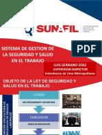 Exposición Sgsst Dr Luis Serrano Diaz Dic 2017