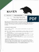February 2001 Raven Newsletter Juneau Audubon Society