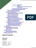 Epoxy Resin - Mechanical Properties