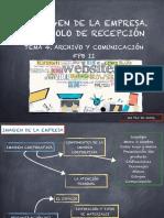 TEMA 4. Protocolo y recepción