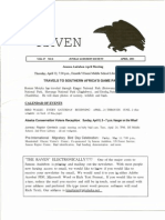 April 2001 Raven Newsletter Juneau Audubon Society