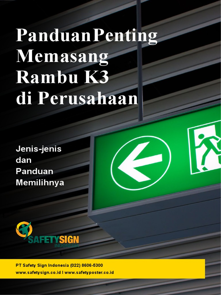 Freebies Panduan Penting Memasang Rambu K3 Www Safetysign Co Id