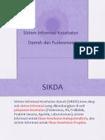 SIKDA dan Puskesmas.pptx
