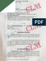 Apertura de juicio oral contra Inda por las falsas acusaciones vertidas contra Luis Benítez de Lugo