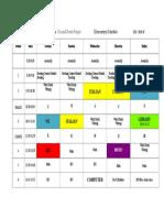 parletta schedule 2018-19