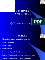 Valuation of Bonds and Stocks(3)