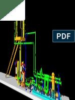 Metering Skid 3d Model 01