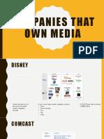 companies that own media 2