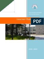 sfl - learner handbook 15