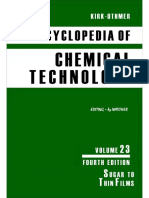Kirk-Othmer Encyclopedia of Chemical Technology [Vol 23]