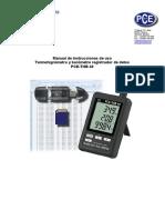 Manual Pce-thb 40