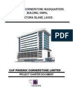 Project Charter for Cornerstone HQ Office Building March 2016