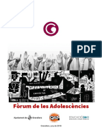 Projecte Fòrum Adolescències