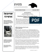December 2002 Raven Newsletter Juneau Audubon Society