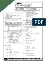 SSC Mock Solution 60 (Maths)