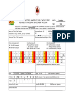 Table Form of DCP Test ERA