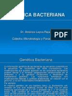 Clase 4 - Genetica Bacteriana