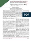 Performance Improvement of Web Usage Mining Over Uncertain Data