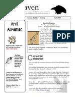 April 2003 Raven Newsletter Juneau Audubon Society