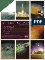 Plaquette Scolaire planétarium VV