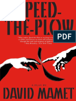 Speed the Plow - David Mamet