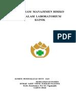 Program Manajemen Risiko Laboratorium