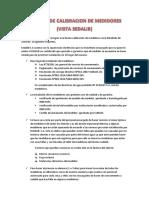 Proceso de Calibracion de Medidores-metrología