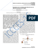 PERFORMANCE COMPARISON OF CLUSTER-BASED PROTOCOLS IN WIRELESS SENSOR NETWORKS