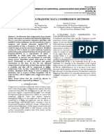 SURVEY OF ULTRASONIC DATA COMPRESSION METHODS