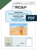 Geoquimica y Composicion Del Magma