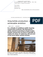 Grey_white Production_ an Achievable Ambition