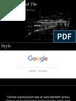 Dr Caligari Architecture