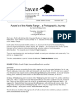 November 2004 Raven Newsletter Juneau Audubon Society