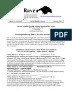 January 2005 Raven Newsletter Juneau Audubon Society