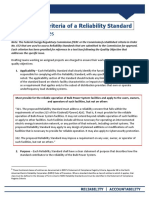 NERCP Reliability Standard