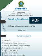 Aula 2 - Desenho Técnico (Construções Geométricas)