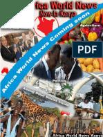 Africa World News Kenya Issue 1 February 2016