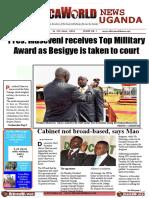 AFRICA WORLD NEWS July to Th July Uganda 4th Edition