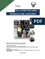 Manual Policía Comunitaria