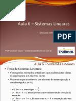 Aula6_Sistemas Lineares