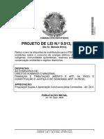 Avulso -PL 9913_2018