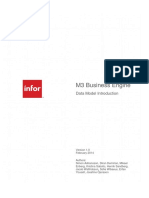 M3 Business Engine Data Model Introduction