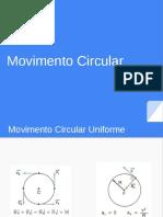 Aula 11 - Movimento Circular