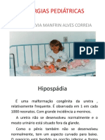 cirurgias pediatricas
