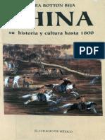 Botton Flora China Su Historia y Cultura Hasta 1800