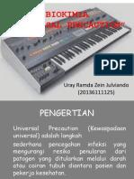 Biokimia Ramda (Universal Precaution)