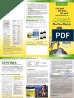 Go-Pro Matrix Brochure
