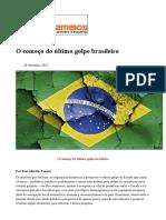 #Caros Amigos - set 2017 - O começo do último golpe brasileiro.pdf