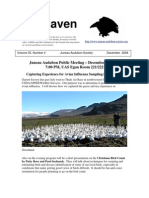 December 2008 Raven Newsletter Juneau Audubon Society