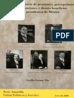 Estudio Pensiones Expresidentes